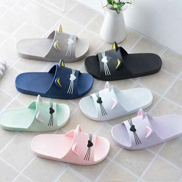 Best Womens Shower Cat Slippers Summer Aqua House Sandals