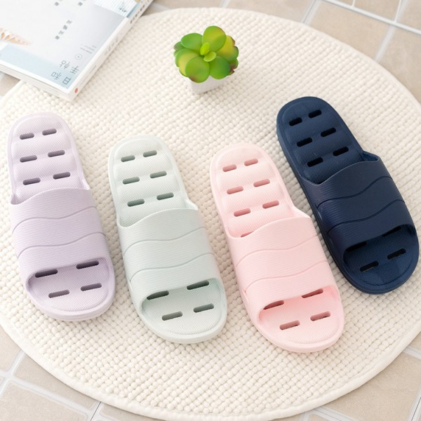 Womens Shower Slippers with Drainage Holes Summer House Sandals