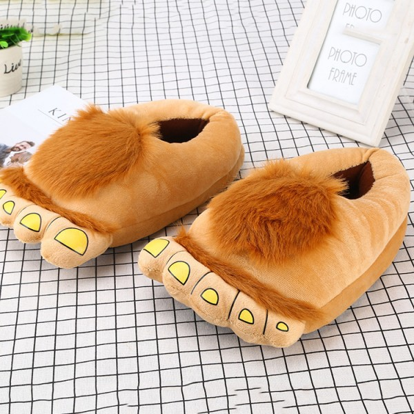 Monster Slipper Shoes for Adults Fuzzy Closed Back Slippers