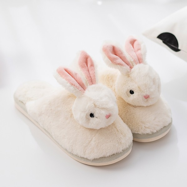 Bunny Slippers for Women and Men Fuzzy House Slippers