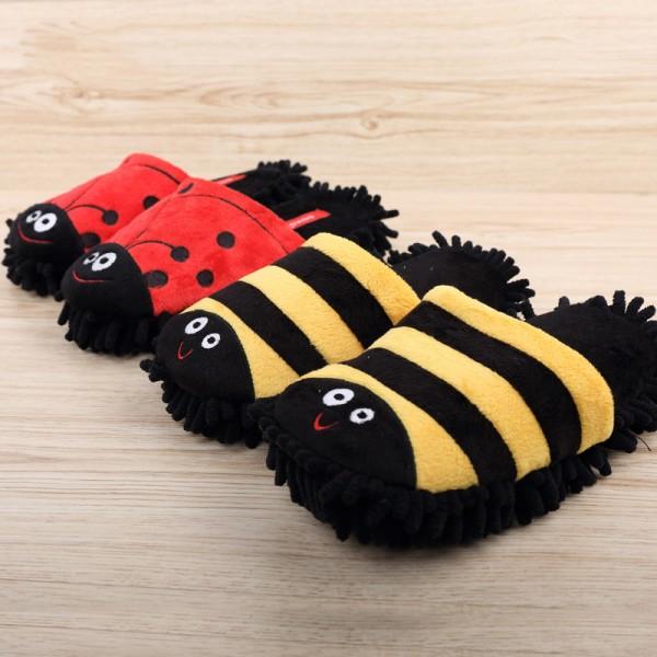 Unisex Cartoon House Slippers Close Toe Cute Animal Slippers