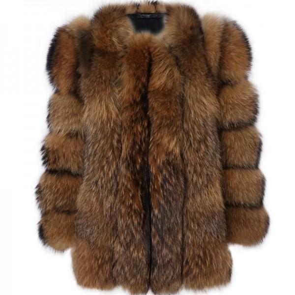 Fluffy Faux Fur Coat Women's Puffy Fur Overcoat