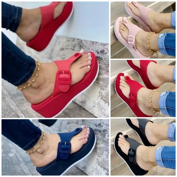 Women's Buckle Flipflop Vionic Thong Sandals