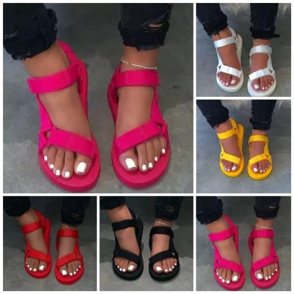 Women's Teva Sandals Flat Sporty Sandals