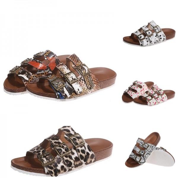 Women's Birkenstock Slippers Flat Slide Sandals