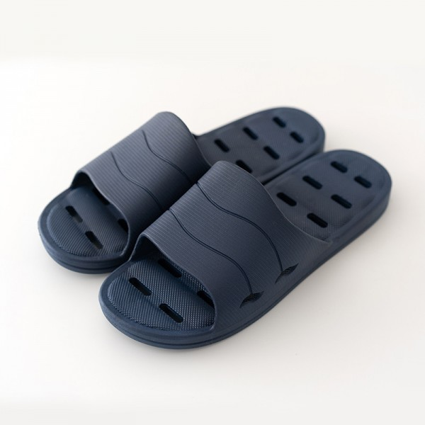 Men's Shower Slippers with Drainage Holes Summer House Slides