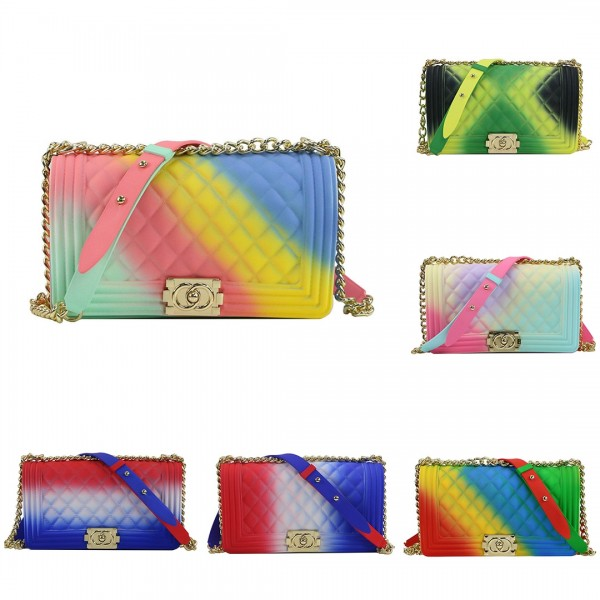Colorful Medium Shoulder Bags Women's Cute Purses