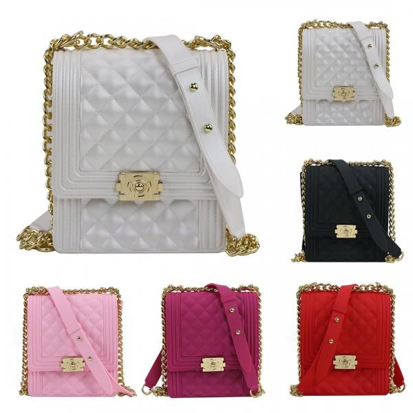 Solid Color Crossbody Phone Bag Women's Messenger Bag