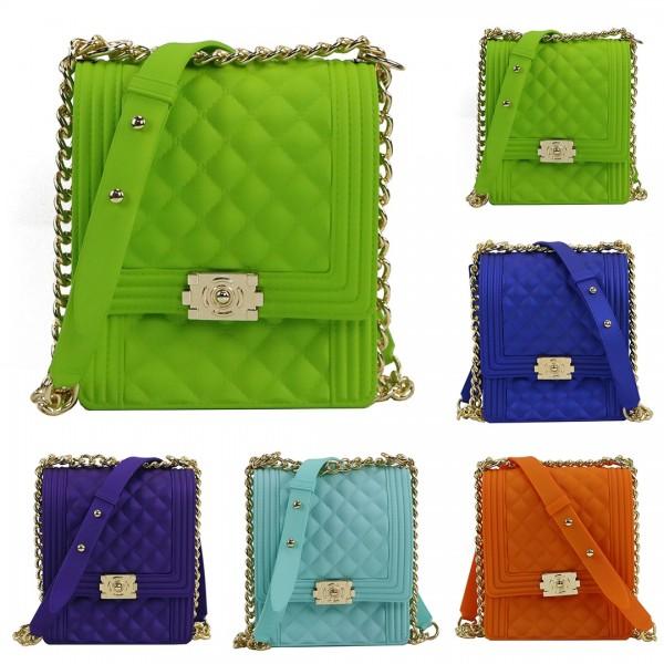 Colorful Crossbody Phone Bag Women's Jelly Purse